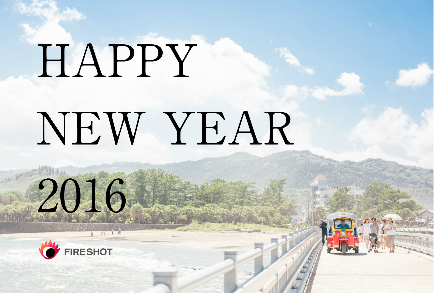HAPPY NEW YEAR 2016 FIRESHOT